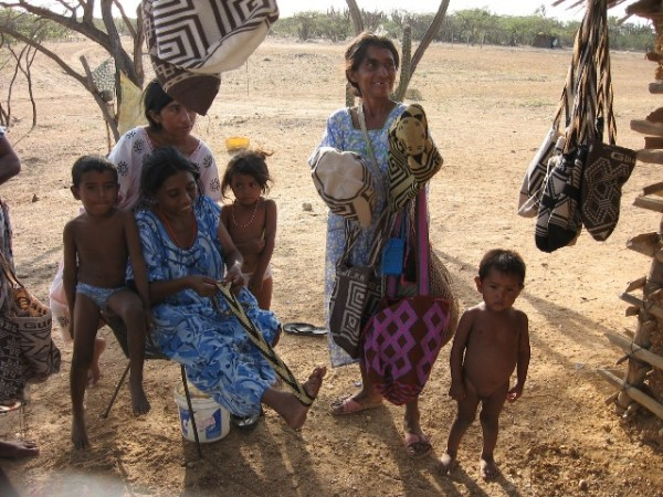 Chaco Indigenas maes e filhos 1