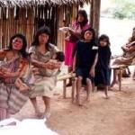 Chaco Indigenas maes e filhos