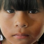 Chaco Mapic criança rosto
