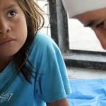 Chaco Mapic criança e monja