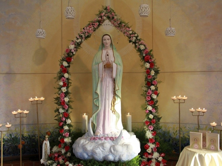 Virgem Maria - Bem - Aventuranças
