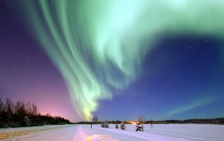 Terra - aurora boreal